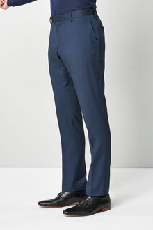 Next Slim Fit Tipped Suit: Trousers