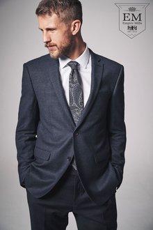 Next Slim Fit Signature British Wool Suit: Trouser