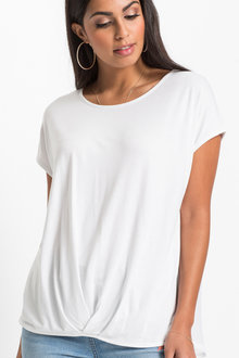 Urban Chiffon Back Top - 214709