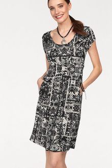 Urban Printed Jersey Dress - 214711