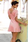 Urban Stripe Fit & Flare Dress
