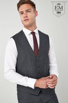 Next British Wool Suit: Waistcoat - 214749
