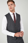 Next British Wool Suit: Waistcoat