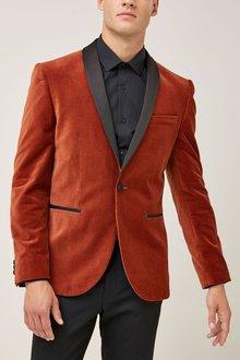 Next Velvet Jacket - Skinny Fit