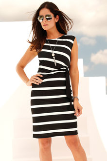 Urban Waist Detail Dress - 214760
