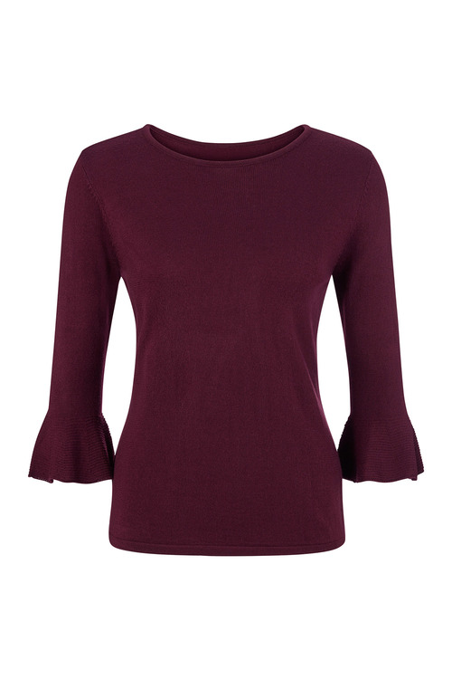 Capture European Bell Sleeve Sweater