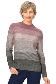 Capture European Ombre Sweater