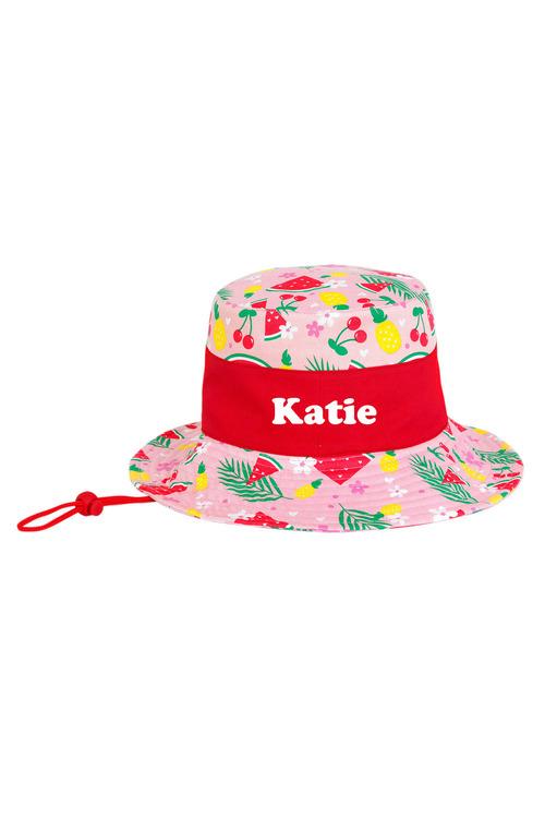 Personalised Kids Sun Hat