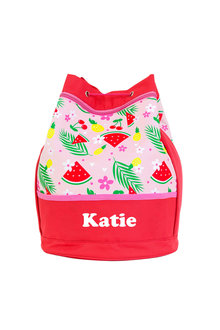 Personalised Kids Swim Bag
