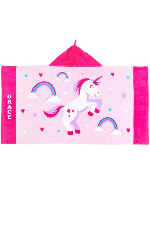 Personalised Pre School Hooded Towel
