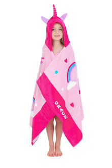 Personalised Pre School Hooded Towel