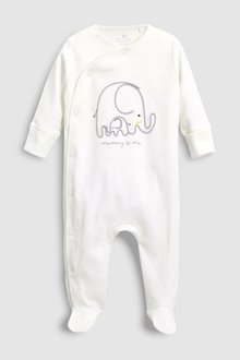 Next Embroidered Mummy & Me Sleepsuit (0-18mths)