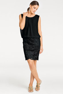 Heine Lace Detail Dress