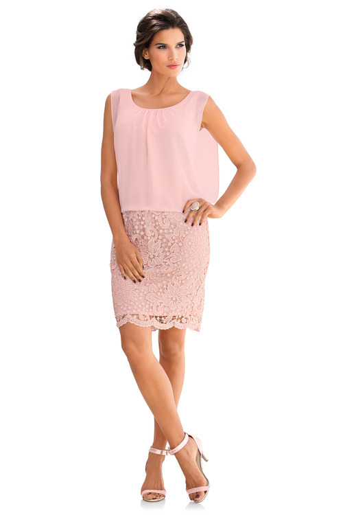 Heine Lace Detail Dress