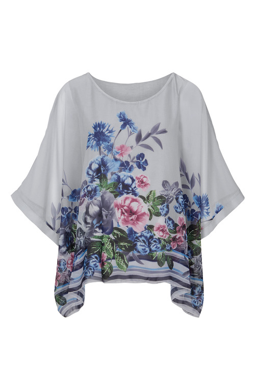 Heine Oversized Floral Tunic