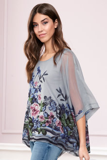 Heine Oversized Floral Tunic