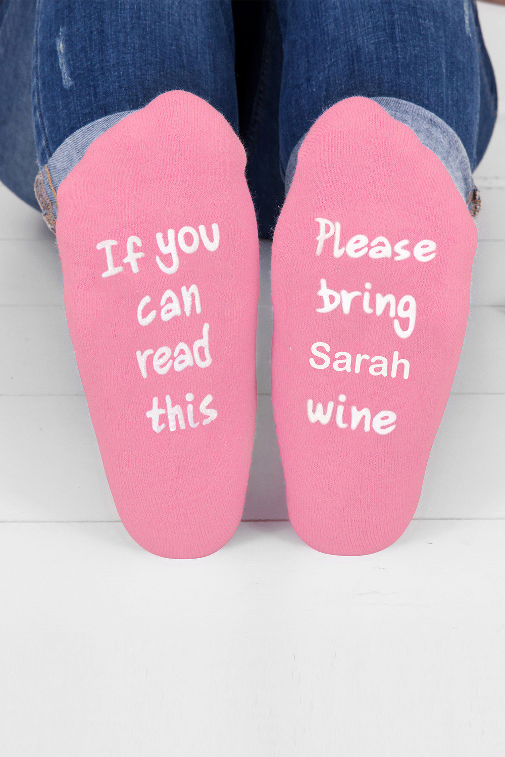 17c89c795ac Personalised Womens Message Socks Online   Shop EziBuy