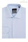 Next Signature Premium Fabric Slim Fit Shirt