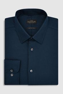 Next Signature Premium Fabric Regular Fit Shirt