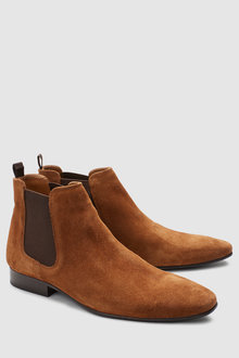 Next Suede Chelsea Boot