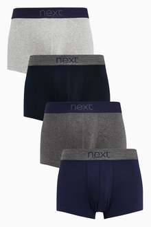 Next Cotton Hipsters Four Pack - 214920