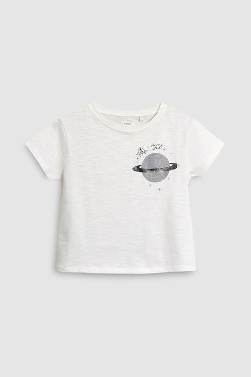 Next Space Print T-Shirt (3-16yrs)