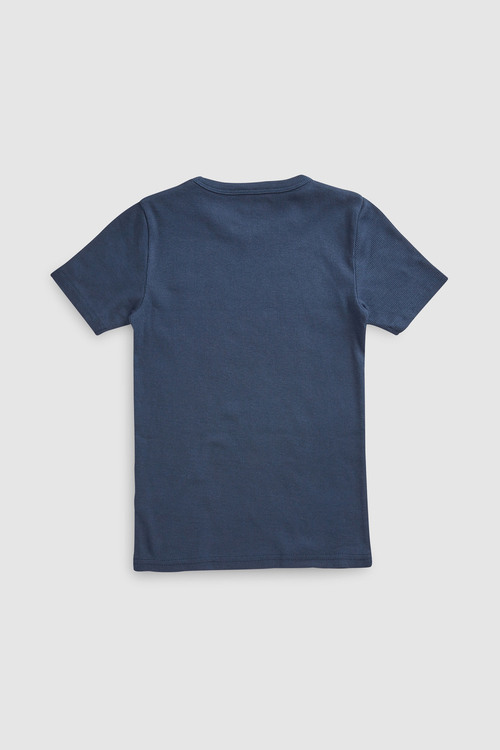 Next Ribbed T-Shirts Three Pack (1.5-16yrs)