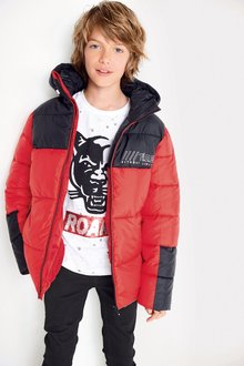 Next Colourblock Padded Jacket (3-16yrs)