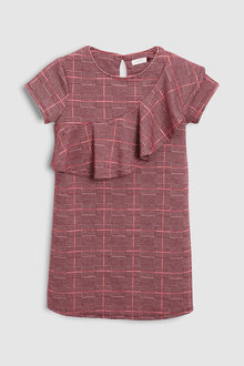 Next Check Ruffle Dress (3-16yrs)