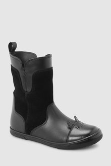 Next Leather Toe Cap Boots (Older)