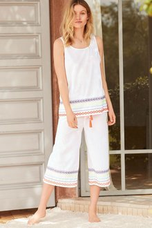 Next Cotton Culotte Set