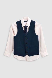 Next Waistcoat Three Piece Set (12mths-16yrs)