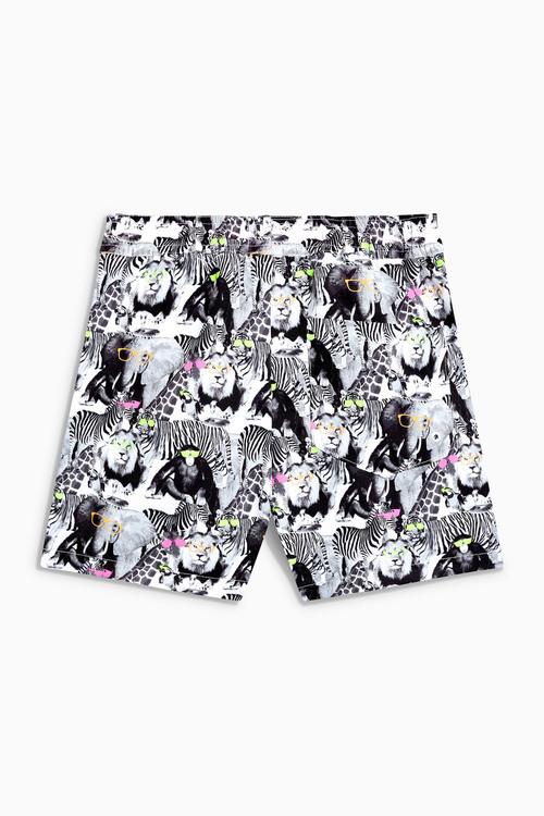 Next Animal Print Swim Shorts (3mths-16yrs)