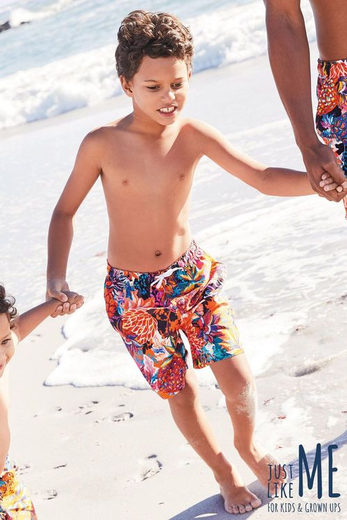 Next Pineapple Print Shorts (3-16yrs)