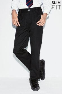 Next Jean Style Slim Fit Trousers (3-16yrs) - Slim Fit - 215030