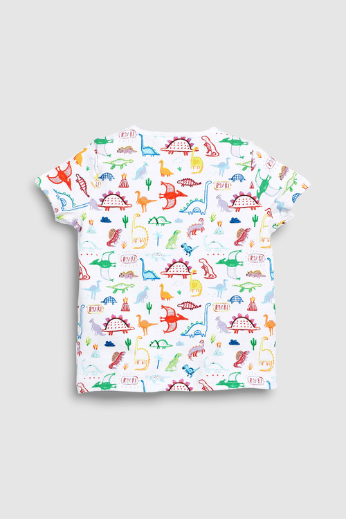 Next Dinosaur T-Shirts Three Pack (0mths-2yrs)