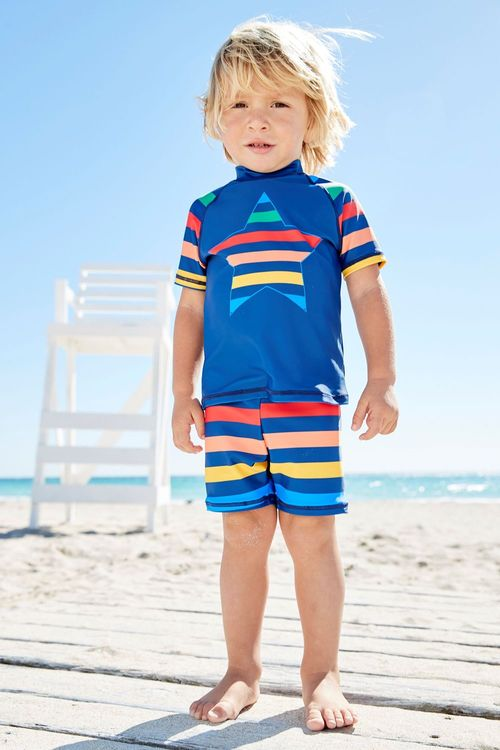 Next Star Rainbow Sunsafe Two Piece Set (3mths-6yrs)
