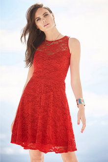 Urban Sweatheart Lace Dress
