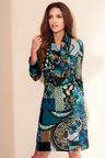 Kaleidoscope Knitted Snood Dress