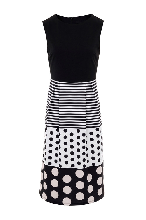 Kaleidoscope Sleeveless Spot Dress