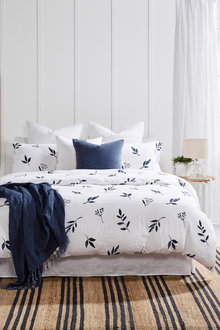 Stem Linen Duvet Cover Set