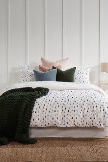 Cotton Flannelette Duvet Cover Set - 215199