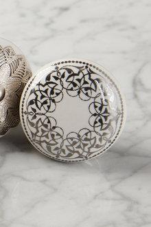 Highgate Painted Ceramic Knob Set of 2