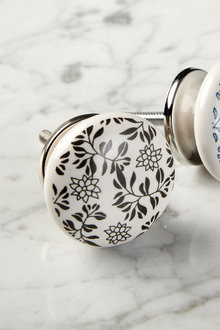 Ashley Painted Ceramic Knob Set of 2