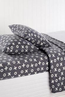 Polar Flannel Sheet Set