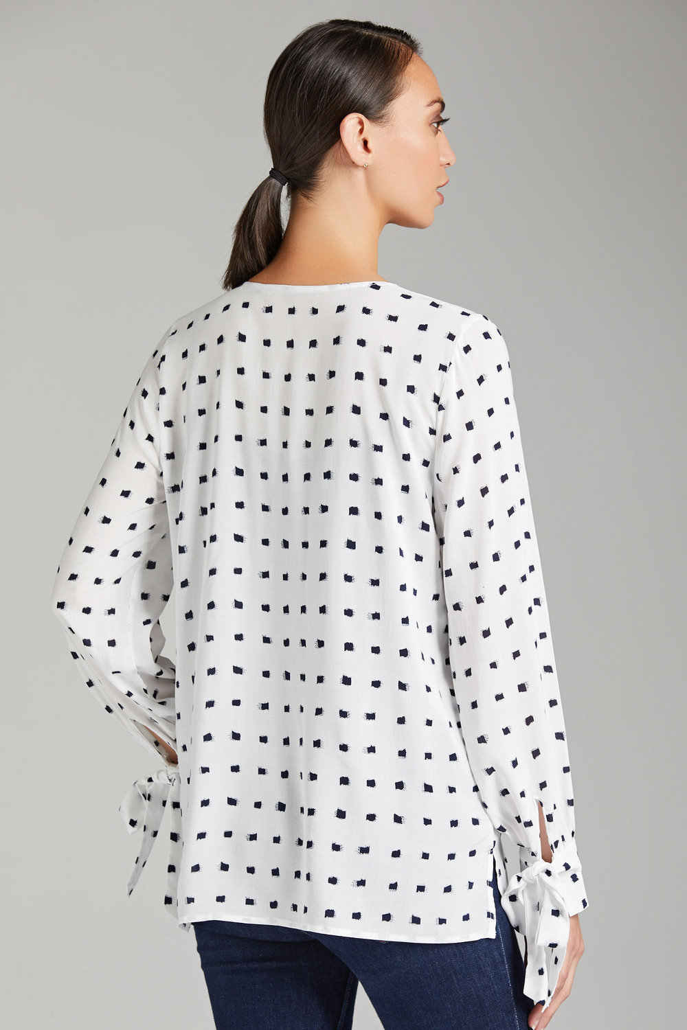 Printed Tie Cuff Plus Size Blouse | Old Navy | Clothes, Plus