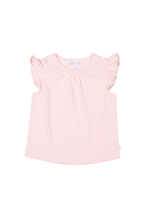 Pumpkin Patch Ruffle Sleeve Tee