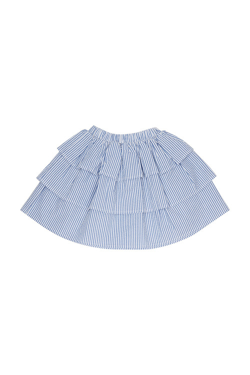 Pumpkin Patch 3 Tier Stripe Skirt