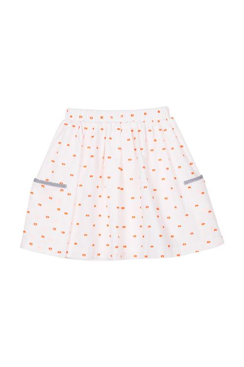 Pumpkin Patch 2 Pocket Elastic Waist Dobby Skirt