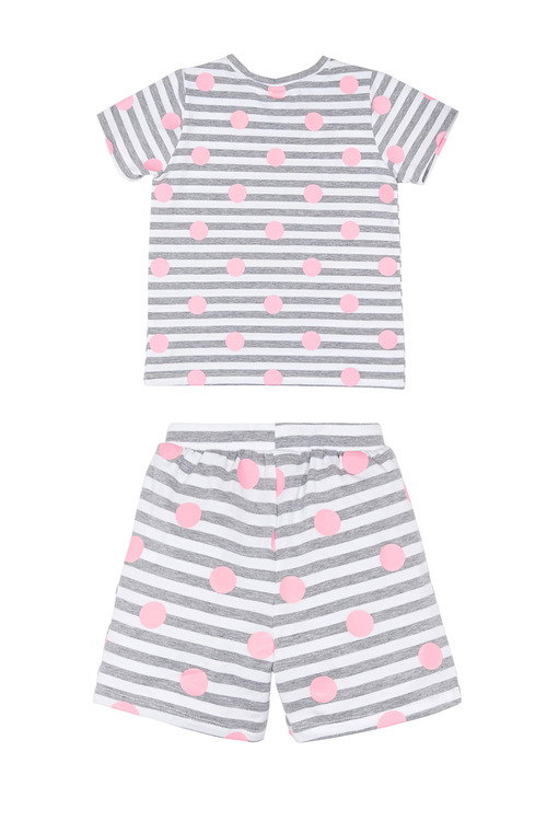 Pumpkin Patch Stripe Spot Pj Set